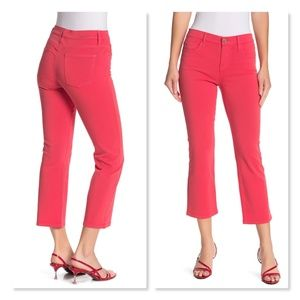 Current/Elliott The Kick Jeans Sz 24 in Poinsettia